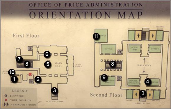 فصل 3 - - نقشه دیده می شود را می توان بر روی دیوار در مناطق خاصی از ساختمان دولت پیدا شده است دشمن از دولت - ص 2 - خرید - مافیا II - بازی راهنمای خرید و