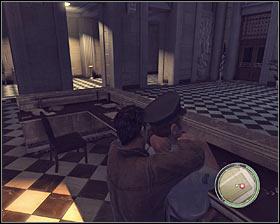 وجود دارد سه نفر از نگهبانان داخل دفتر ساختمان قیمت دولت و من نمی توصیه با استفاده از اسلحه به آنها را بکشند - فصل 3 - دشمن حکومت - ص 2 - خرید - مافیا II - بازی راهنمای خرید و