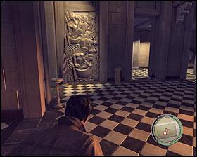 امن است در اتاق نقطه توزیع واقع در طبقه اول (9 بر روی نقشه)، با این حال شما باید به آنجا حق دور، به دلیل باز کردن امن و بدون هیچ گونه آمادگی در بالا بردن زنگ نتیجه - فصل 3 - دشمن دولت - ص 3 - خرید - مافیا II - بازی راهنمای خرید و