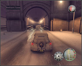 Turn right as soon as you've reached the freeway and head west #1, towards the fifth gas station (5 on the map) - Chapter 3 - Enemy of the State - p. 4 - Walkthrough - Mafia II - Game Guide and Walkthrough