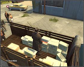 نقطه فروش در پشت ساختمان های واقع، بنابراین شما مجبور به انتخاب یک مسیر منتهی وجود دارد # 1 - فصل 8 - آنهایی که وحشی - ص 1 - خرید - مافیا II - بازی راهنمای خرید و