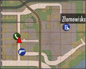 نزدیکترین باجه تلفن در منطقه رودخانه واقع شده و شما می توانید آن را در غرب از scrapyard شما در فصل های قبلی این بازی که بازدید کرده اید را پیدا کنید - فصل 8 - آنهایی که وحشی - ص 1 - خرید - مافیا II - بازی راهنمای خرید و