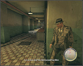 Make sure that Vito is crouching (C key), because you can't be discovered for the next few minutes or the hostages are going to be executed - Chapter 9 - Balls and Beans - p. 2 - Walkthrough - Mafia II - Game Guide and Walkthrough