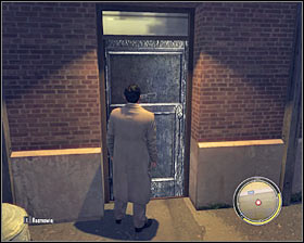 Watch a cut-scene showing a conversation with El Greco, go back to your vehicle and start diving to Bruno's hideout located in the southern part of Empire Bay - Chapter 14 - Stairway to Heaven - p. 4 - Walkthrough - Mafia II - Game Guide and Walkthrough