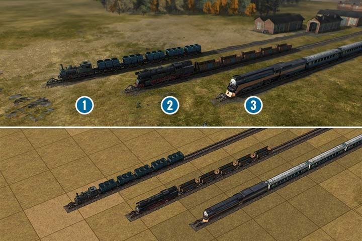 The second age features locomotives that are nice in all aspects - Age of steam | Engines - Engines - Mashinky Game Guide