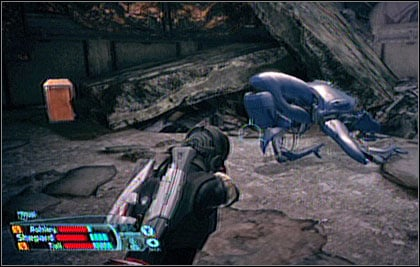 Leave Mako and continue on foot - Feros - p. 4 - WALKTHROUGH - Mass Effect - Game Guide and Walkthrough