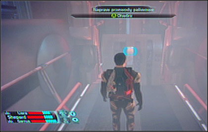 Explore the area searching for useful equipment and ride the elevator (NOV9-A) back to Mira core level - Noveria - p. 6 - WALKTHROUGH - Mass Effect - Game Guide and Walkthrough