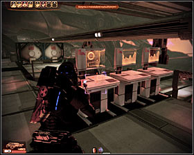 Order your teammates to remain near the terminal you've just used - Walkthrough - The Reaper IFF - Main quests - Mass Effect 2 - Game Guide and Walkthrough