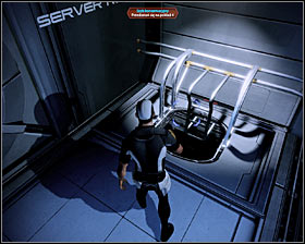 You'll have to perform only one action here and that is to interact with a computer panel of the AI core (first screenshot) - Walkthrough - The Reaper IFF - Main quests - Mass Effect 2 - Game Guide and Walkthrough