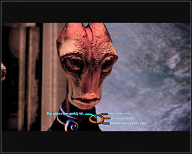 You may return to Ish and give him one or two datapads right away (renegade points) or ask him some questions about the information stored on the datapads first - Side quests - Omega - Side quests - Mass Effect 2 - Game Guide and Walkthrough