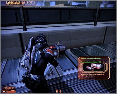 Standard ammo clips and power cells can be found during missions, mostly near dead enemies and inside large containers - World Atlas - The basics - Gameplay - World Atlas - The basics - Mass Effect 2 - Game Guide and Walkthrough