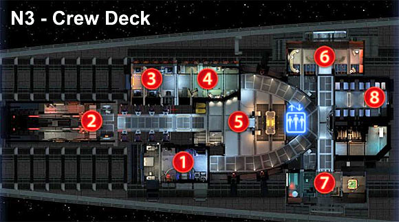 Marked on a map - Normandy maps - Galaxy - Mass Effect 3 - Game Guide and Walkthrough