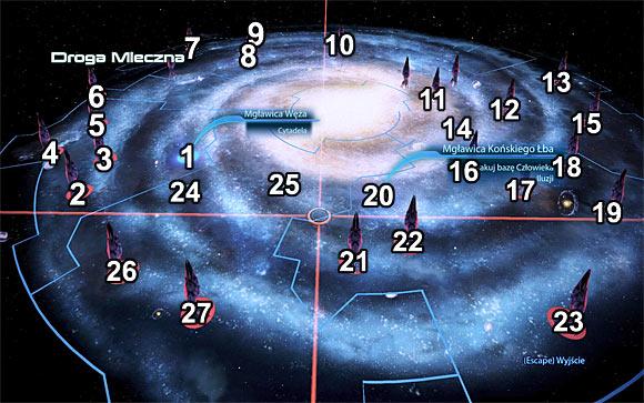 Galaxy map | Galaxy - Mass Effect 3 Game Guide ...
