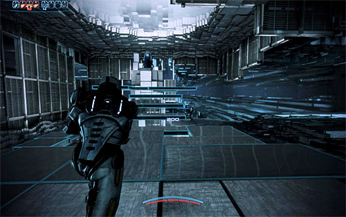 After you've seen the final recording you'll be rewarded with a chance to step into a nearby access point - Rannoch: Geth Fighter Squadrons - Main quests - Mass Effect 3 - Game Guide and Walkthrough