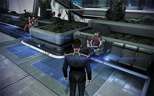 General Oraka can be found at [Citadel: Presidium Commons], nearby the Apollo caf� to be precise - Aria: Blue Suns - Quests on the Citadel - Mass Effect 3 - Game Guide and Walkthrough