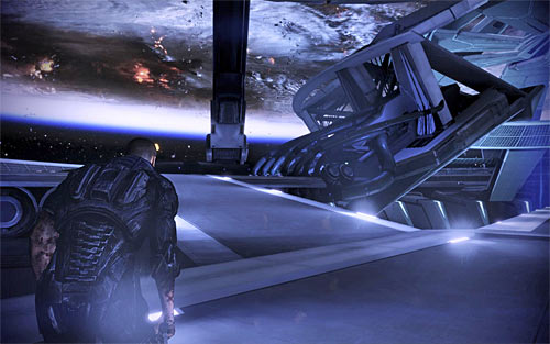 If you intend to take control over all synthetic life (including the Reapers), then you must choose the left ramp (screen above) - Endings - Mass Effect 3 - Game Guide and Walkthrough