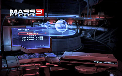 The next time you'll try to a start a new game you should notice that a new option has appeared on the list - Importing a character from ME3 - Endings - Mass Effect 3 - Game Guide and Walkthrough