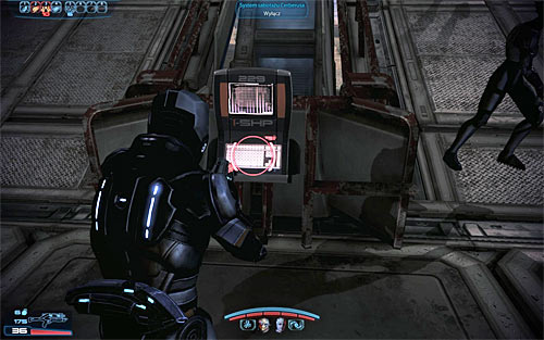 I strongly recommend that you ignore your current objective for the time being and explore this ENTIRE map, because you won't encounter any new enemies at this moment and you won't be allowed to look around after you've completed all primary tasks - N7: Communication Hub - N7 quests - Mass Effect 3 - Game Guide and Walkthrough
