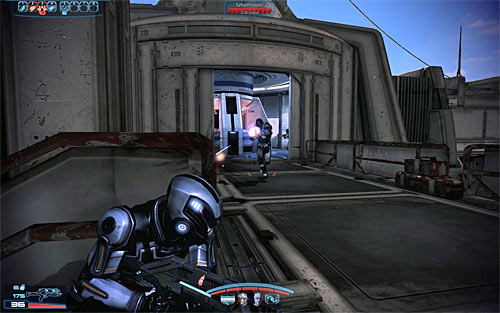 The game will add the location of a second terminal to your HUD, however for now you should focus on eliminating a new group of Cerberus soldiers - N7: Communication Hub - N7 quests - Mass Effect 3 - Game Guide and Walkthrough