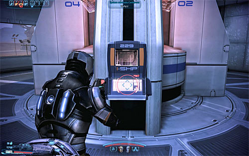 The final third terminal can be found inside the large building and you've probably noticed it earlier on in the mission - N7: Communication Hub - N7 quests - Mass Effect 3 - Game Guide and Walkthrough