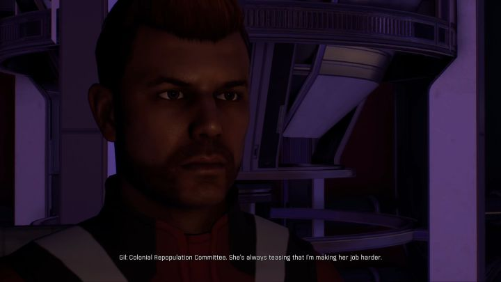 Gil Brodie. - How to start a romance with Gil Brodie in Mass Effect: Andromeda? - Romances - Mass Effect: Andromeda Game Guide