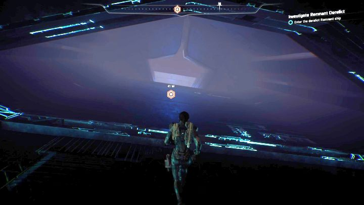 Follow the navpoint. - Investigate Remnant Derelict on Elaaden - Elaaden - Mass Effect: Andromeda Game Guide
