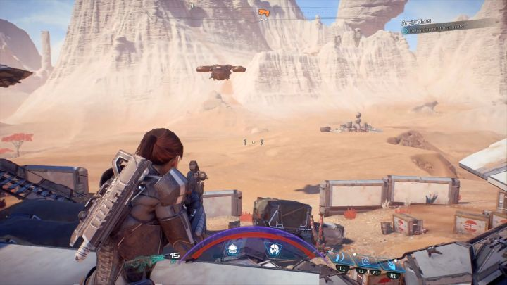 After a short while enemy reinforcements will come. - Aspirations | Elaaden - Elaaden - Mass Effect: Andromeda Game Guide