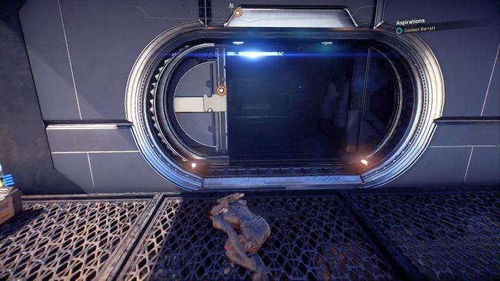 The last thing to do in order to complete the mission is to contact Barrett. - Aspirations | Elaaden - Elaaden - Mass Effect: Andromeda Game Guide