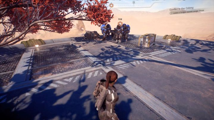 Talking to Jorgal Strux is the only thing you must do in this mission. - Other quests on Elaaden - Elaaden - Mass Effect: Andromeda Game Guide
