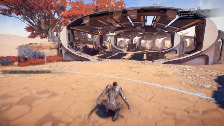 Scan a random scavenger in order to start the mission. - Other quests on Elaaden - Elaaden - Mass Effect: Andromeda Game Guide
