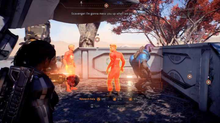 You must scan a couple of scavengers in order to complete this mission. - Other quests on Elaaden - Elaaden - Mass Effect: Andromeda Game Guide