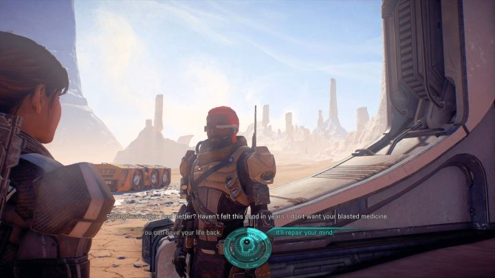 Talking to the scavenger will conclude the mission. - Other quests on Elaaden - Elaaden - Mass Effect: Andromeda Game Guide