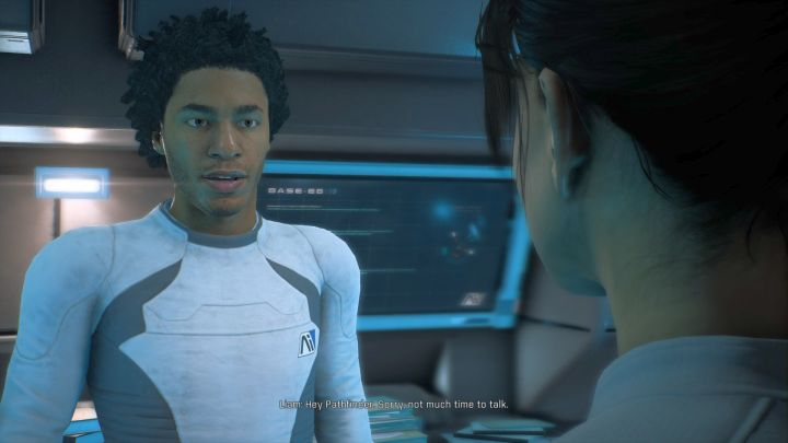 Liam Costa. - How to start a romance with Liam Costa in Mass Effect: Andromeda? - Romances - Mass Effect: Andromeda Game Guide