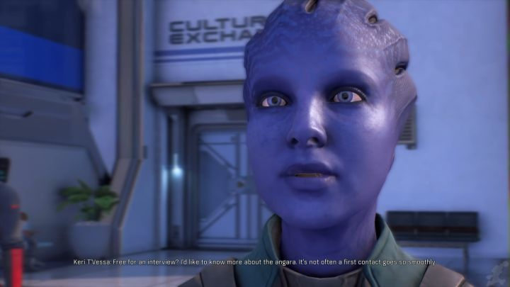 Keri TVessa. - How to start a romance with Keri TVessa in Mass Effect: Andromeda? - Romances - Mass Effect: Andromeda Game Guide