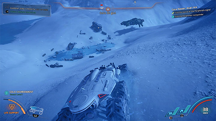 On Voeld map you can notice four new markers, although you dont have to investigate all of the locations - Cora Harper: Asari Ark | Allies and Relationships - Allies and Relationships quests - Mass Effect: Andromeda Game Guide
