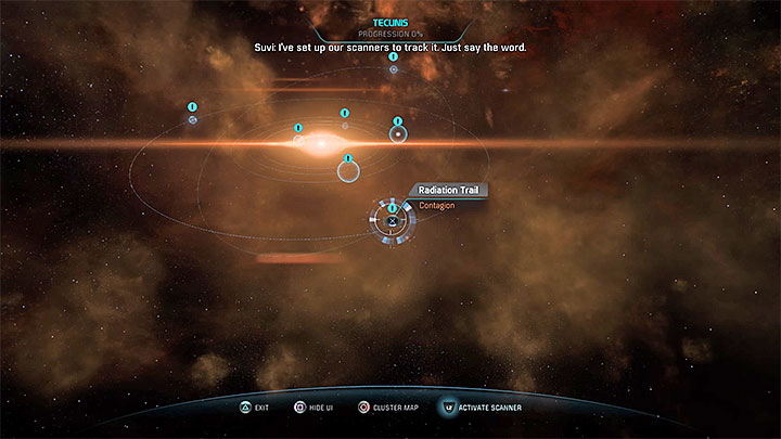 Check the anomalies in three different star systems - Contagion | Nexus side quests - Nexus - Mass Effect: Andromeda Game Guide