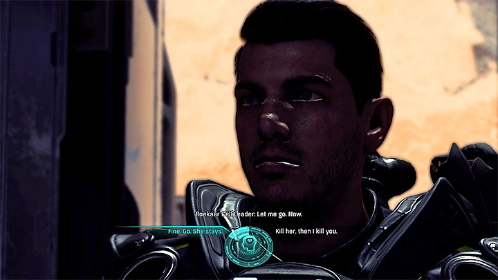 Decide how you want to approach the situation - Contagion | Nexus side quests - Nexus - Mass Effect: Andromeda Game Guide