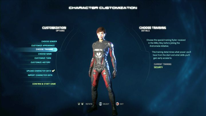 You can customize the appearance of both your character and his/her twin. - Character creation in Mass Effect: Andromeda - Character - Mass Effect: Andromeda Game Guide