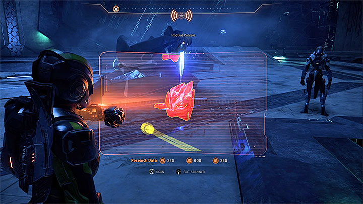 The place that must be scanned - A Better Beginning | Priority Ops - Priority Ops (Main quests) - Mass Effect: Andromeda Game Guide