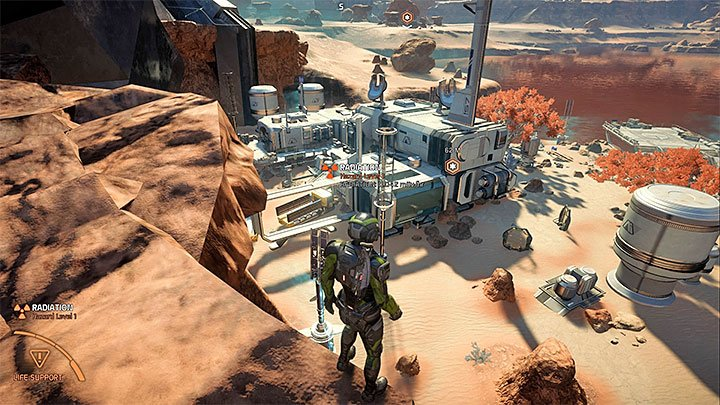 Site 2 is not far from Site 1, the area examined during A Better Beginning - The Secret Project | Eos side quests - Eos - Mass Effect: Andromeda Game Guide