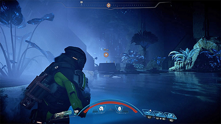 Entrance to the last monolith can be found in the northern part of Havarl, right next to the dried-out riverbed - A Dying Planet | Havarl side quests - Havarl - Mass Effect: Andromeda Game Guide