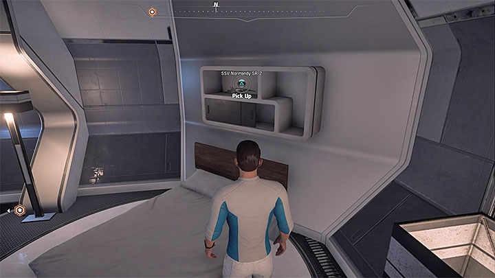 Look into Alec Ryders cabin aboard Nexus - List of scale models for the captains cabin in Mass Effect: Andromeda - FAQ - Frequently asked questions - Mass Effect: Andromeda Game Guide