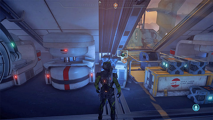 The console from which you learn about the need to visit the relay station - A Better Beginning | Priority Ops - Priority Ops (Main quests) - Mass Effect: Andromeda Game Guide