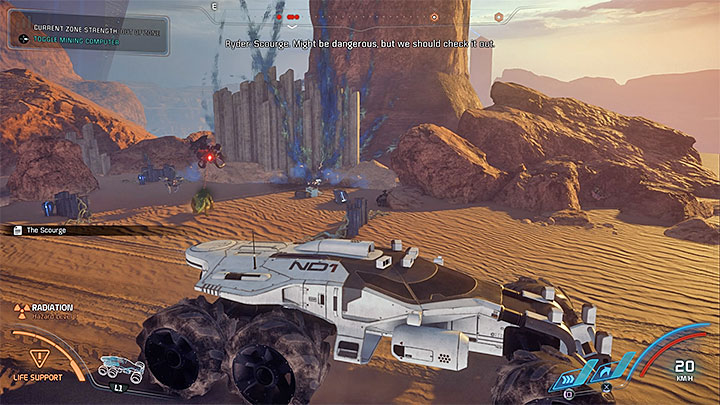 A scientific station - Additional tasks | Eos side quests - Eos - Mass Effect: Andromeda Game Guide