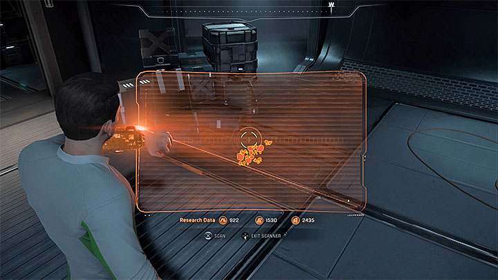 The animal tracks can be found in the lowest deck of the ship, in its south-west part - Visitor | Tempest side quests - Tempest - Mass Effect: Andromeda Game Guide