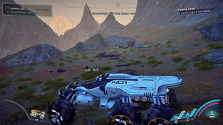 Spirits Ledge is in the south-east part of Kadaras wilderness and you can have some trouble with getting there - Precious Cargo | Kadara side quests - Kadara - Mass Effect: Andromeda Game Guide