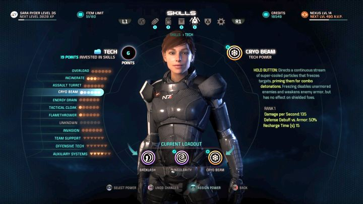 This task requires the Cryo Beam ability from the Tech tree. - How to unlock the Icebreaker trophy in Mass Effect: Andromeda? - Achievements / Trophies - Mass Effect: Andromeda Game Guide