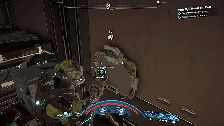 Right after you enter the new area you must immediately hide behind cover because your team will be under heavy fire - Vetra Nyx: Means and Ends - Allies and Relationships quests - Mass Effect: Andromeda Game Guide