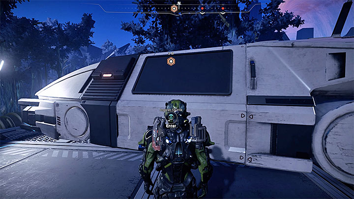 Use the shuttle in Pelaav to go to the meeting - Jaal Ama Darav: Runs in the Family | Allies and Relationships - Allies and Relationships quests - Mass Effect: Andromeda Game Guide