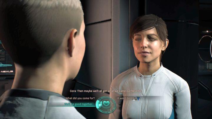 Romancing en Mass Effect Andromeda es mucho más fácil que antes.  - Romance - ¿Con quién puedes flirtear en Mass Effect: Andromeda?  - Romances - Mass Effect: Guía del juego Andromeda